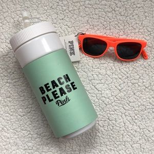 PINK Victoria's Secret Water Bottle & Sunglasses